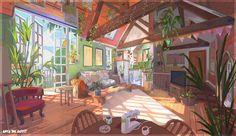 Anime Backgrounds Wallpapers, Anime Scenery Wallpaper, Cute Wallpapers, Aesthetic Desktop Wallpaper, Computer Wallpaper, Kawai Japan, Casa Anime, Anime Places, Arte Do Kawaii