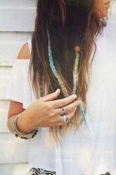 Color dreadlocks, I think it's cool.
