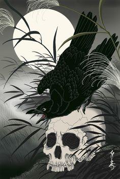 Senju Horimatsu - Karasu (Corbeau)