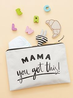 Hey Mama, you got this! No matter what the situation, with this pouch by your side you can handle anything!