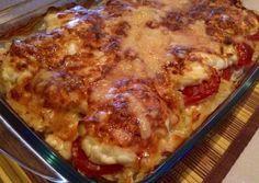 Szeretem a csirkemellet, ezért elkészítettem :) Easy Chicken Recipes, Meat Recipes, Dinner Recipes, Cooking Recipes, Healthy Recipes, Good Food, Yummy Food, Tasty, Hungarian Recipes