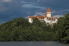Archduke Franz Ferdinand's Castle, Konopiště, Czech Republic.  The assassination of archduke Ferdinand ignited World War I. See what he liked most!