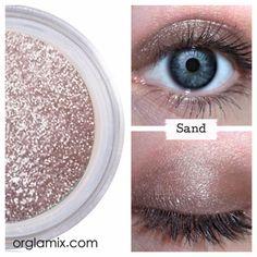 Sand Eyeshadow | Orglamix Want it Love it Need it,