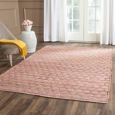 Shop for Safavieh Cape Cod Handmade Natural / Blue Jute Natural Fiber Rug - x Get free delivery at Overstock - Your Online Home Decor Store! Get in rewards with Club O! Natural Fiber Rugs, Natural Area Rugs, Natural Rug, Cape Cod, Thing 1, Jute Rug, Runes, Blue Area Rugs, Blue Rugs