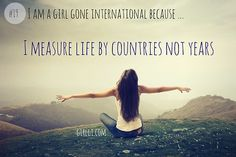I want to travel and make memories all over the world -