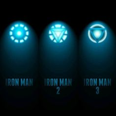 Iron Man 1, 2 and 3