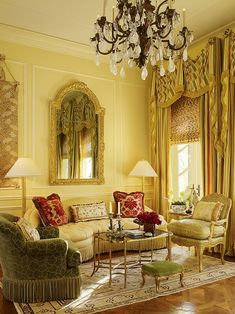 Living Room - French Style Interiors