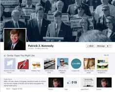 Patrick Kennedy - Facebook Page
