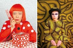 Kusama Yayoi - one of the most inspiring female artists of the last century.
