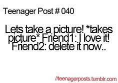 Hahahaha happens all the time