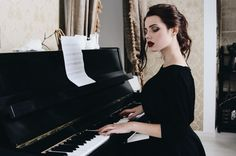 """"""" —did you ever see the devil play the piano? it's beautiful! Lizzie Hearts, Regulus Black, Black Sisters, The Villain, Live Action, Aesthetic Pictures, Character Inspiration, Diana, People"""
