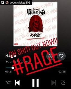 RepostPlus youngwicked303     Out now Just a cpl minutes of microphone murder go listen to  RAGE on any and all digital outlets  youngwicked  majikninjaentertainment  killerhustle  youngwickedmixtapevol2 Hey Jo, Instagram Users, Instagram Posts, Outlets, Fashion Pictures, Rage, Most Beautiful Pictures, Digital, Wall Outlet