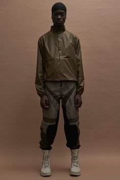 Kanye West unveiled his new collection for Yeezy, during New York Fashion Week.