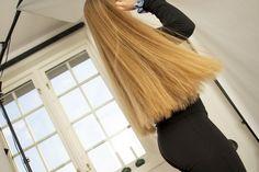 Bun Hairstyles For Long Hair, Different Hairstyles, Hip Length Hair, Rapunzel Hair, Very Long Hair, Beautiful Long Hair, Hair Lengths, Blonde Hair, Thick Hair
