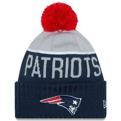 New England Patriots Merchandise, Patriots Team, New England Patriots Football, Cubs Merchandise, Dallas Cowboys Women, Nfl Fans, Pom Pom Hat, Knitted Hats, Frases