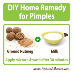 Home remedy for pimples
