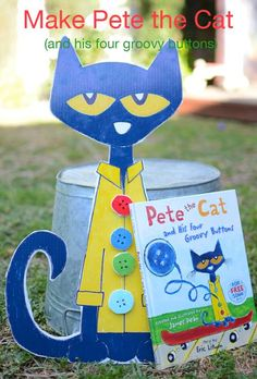Lots of ideas for Pete the Cat and His Four Groovy Buttons