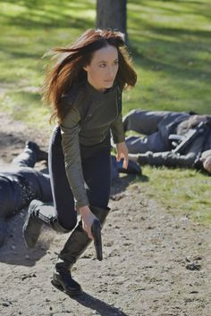 Still of Maggie Q in Nikita (2010)