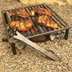 Cast iron grill