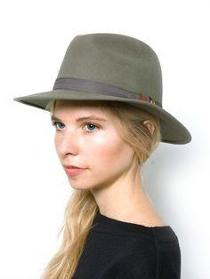 kakadu Louie hat - Green