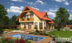 Rodinný dům Alfa - typový projekt G SERVIS