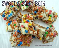 Sweet & Salty Bark.....Aka A Party In Your Mouth!!!