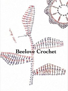 Beelove Crochet irish crochet leaf pattern