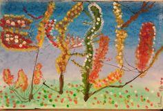 ·#otoño #hojas #pinturacon niños #fall #leaves #artwithkids