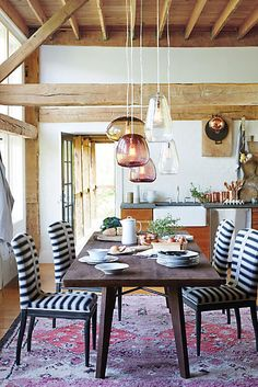 Rough-Hewn Dining Table