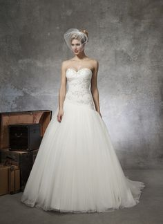 Justin Alexander Bridal Gown - Available here @ Formalities