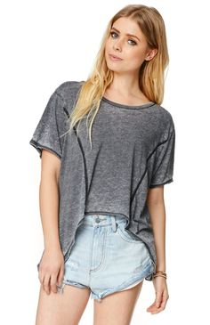 Volcom Seam Me Top - Womens Tee from PacSun
