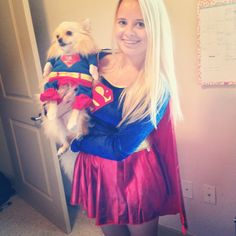 Matching costume with your pup!