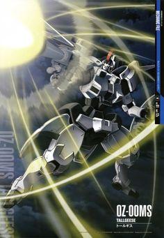 Mobile Suit Gundam Wing - OZ-00MS Tallgeese