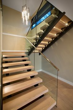 Staircase | Westcoast contemporary home by Best Builders Ltd. | Ema Peter Photography