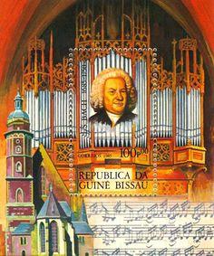 Resultado de imagem para selo de JOHANN SEBASTIAN BACH