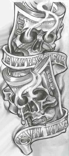 Skull Tattoos for Men Shoulder . Skull Tattoos for Men Shoulder . Gangster Tattoos, Evil Tattoos, Badass Tattoos, Skull Tattoos, Body Art Tattoos, Sleeve Tattoos, Chicano Tattoos Gangsters, Evil Skull Tattoo, Chicano Art Tattoos