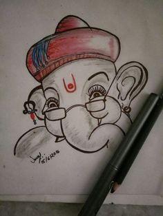 My cutie Ganesha