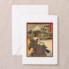 Japanese print Greeting Cards (Pk of 10) on CafePress.com