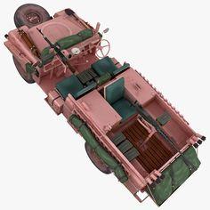 Land Rover S2A-SAS Pink Panther