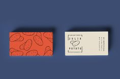 Branding & Identity Design for Julia Potato (Photographer) Self Branding, Business Branding, Business Card Design, Creative Business, Branding Design, Personal Branding, Typography Design, Photography Branding, Photography Business