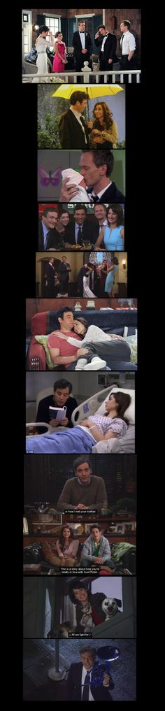 #HIMYM Season 9 Finale First love prevailed in the end. Though unexpected ending, still feeling good for Ted.