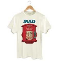 Camiseta Masculina MAD In Case Of Worry Break Open This Issue #MAD #DCComics