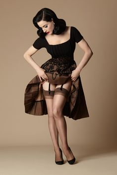 Dita Daytime Sheer $14.00 AT vintagedancer.com                                                                                                                                                                                 More