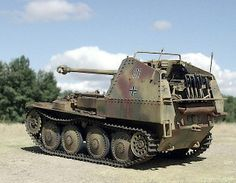 """The Marder III is the name for a series of World War II German tank destroyers built on the chassis of the Panzer 38(t). The German word Marder means """"marten"""" in English. They were in production from 1942 to 1944 and served on all fronts until the end of the war.  The Marders were mechanically reliable, as with all vehicles based on the Czechoslovak 38t chassis. Their firepower was sufficient to destroy the majority of Soviet tanks on the battlefield at combat range."""
