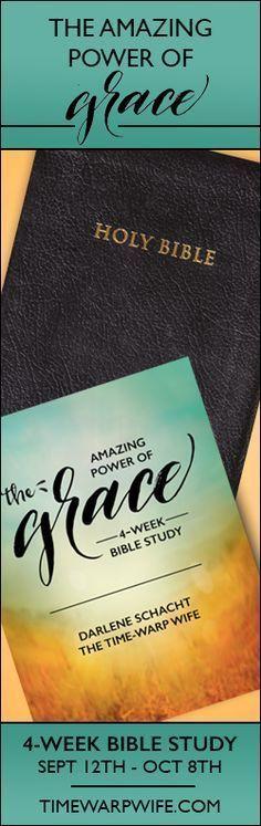 The Amazing Power of Grace - FREE Bible study