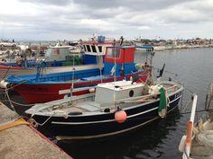 Barche al porto di San Felice Circeo