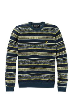 Lyle and Scott Fairisle Jumper