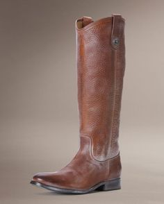 Women's Melissa Button Boot - Saddle