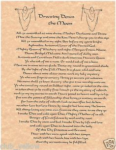 Drawing Down the Moon Book of Shadows Page BOS Pages Wicca Poster Parchment Halloween Spell Book, Halloween Spells, Zodiac Planets, Drawing Down The Moon, Black Magic Love Spells, Eclectic Witch, Crystal Magic, Practical Magic, Personalized Books