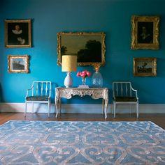 stunning wall color